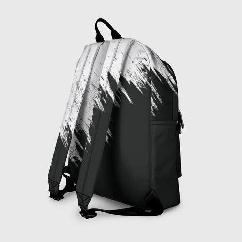 Рюкзак 3D с принтом Краска и ничего лишнего!, вид сзади #1