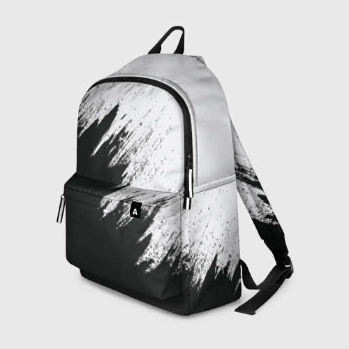 Рюкзак 3D с принтом Краска и ничего лишнего!, вид спереди #2