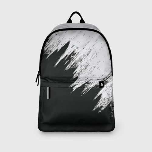 Рюкзак 3D с принтом Краска и ничего лишнего!, вид сбоку #3
