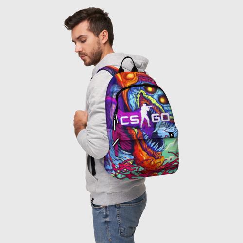 Рюкзак 3D с принтом CS GO, фото на моделе #1