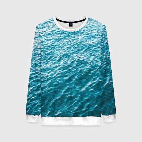 Женский 3D свитшот Море