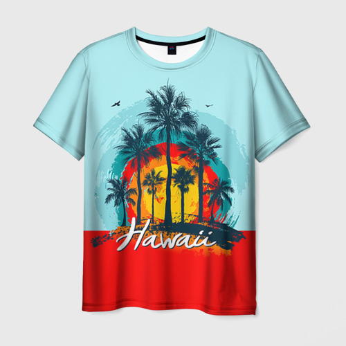 Мужская 3D футболка HAWAII 6
