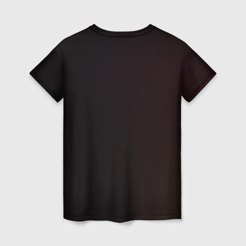 Женская 3D футболка с принтом Пика-Пика?, вид сзади #1