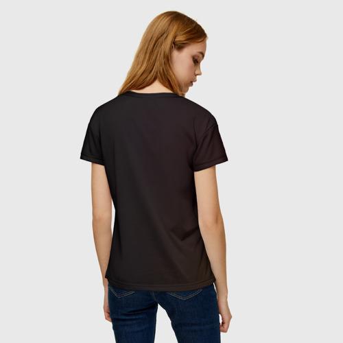 Женская 3D футболка с принтом Пика-Пика?, вид сзади #2