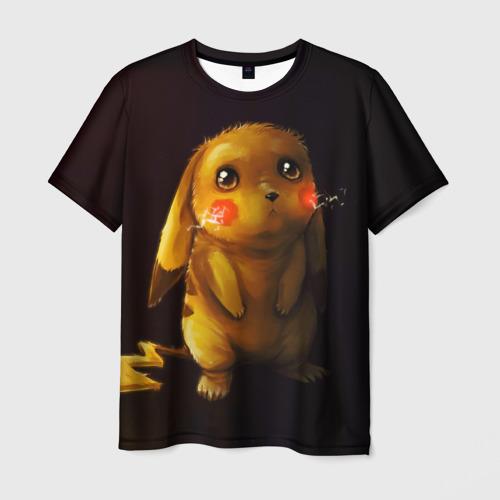 Мужская 3D футболка Пика-Пика?