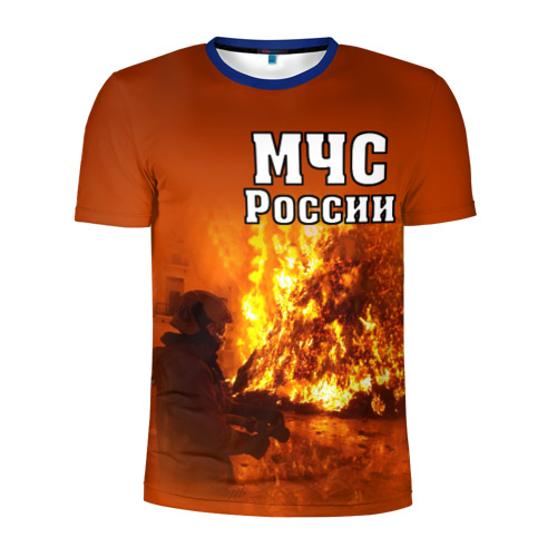Мужская футболка 3D спортивная МЧС России