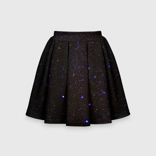 Детская юбка-солнце 3D Космос