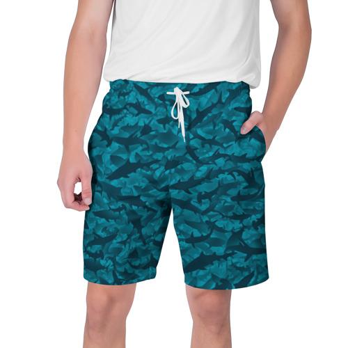 Мужские шорты 3D Акулы