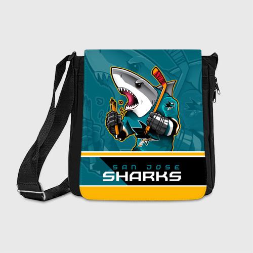 Сумка через плечо San Jose Sharks