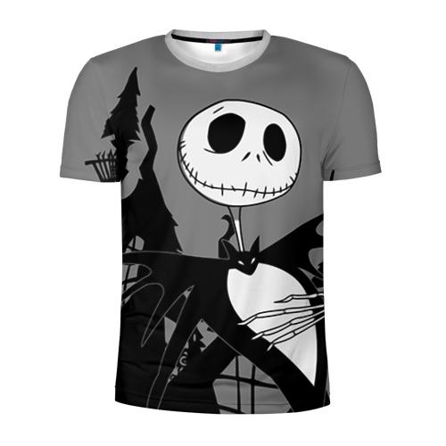 Мужская футболка 3D спортивная Джек повелитель тыкв