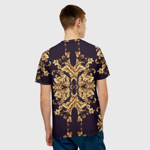 Мужская 3D футболка с принтом Style, вид сзади #2