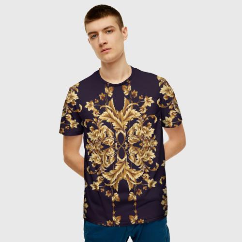 Мужская 3D футболка с принтом Style, фото на моделе #1