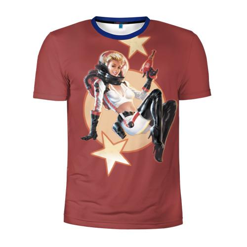 Мужская футболка 3D спортивная NukaCola