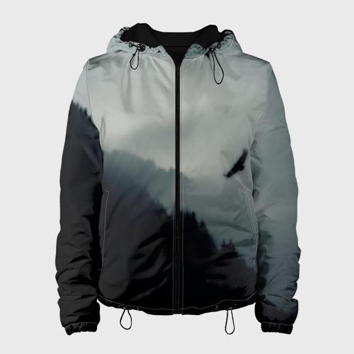 Женская куртка 3D Орёл
