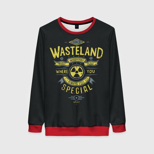 Женский 3D свитшот Come to Wasteland