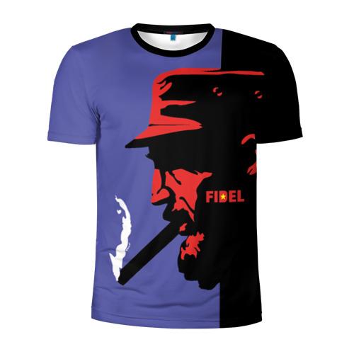 Мужская футболка 3D спортивная Fidel