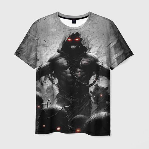 Мужская 3D футболка Disturbed 9