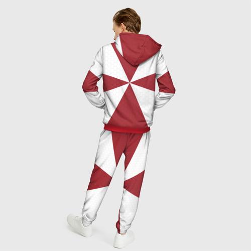 Мужской 3D костюм с принтом ФСВНГ (Росгвардия), вид сзади #2