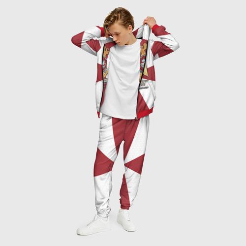 Мужской 3D костюм с принтом ФСВНГ (Росгвардия), фото на моделе #1