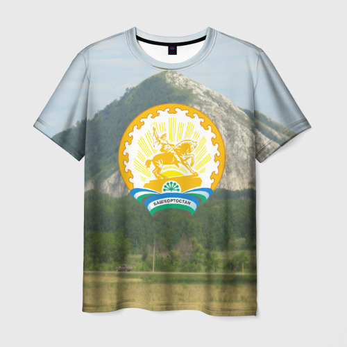 Мужская 3D футболка Башкортостан