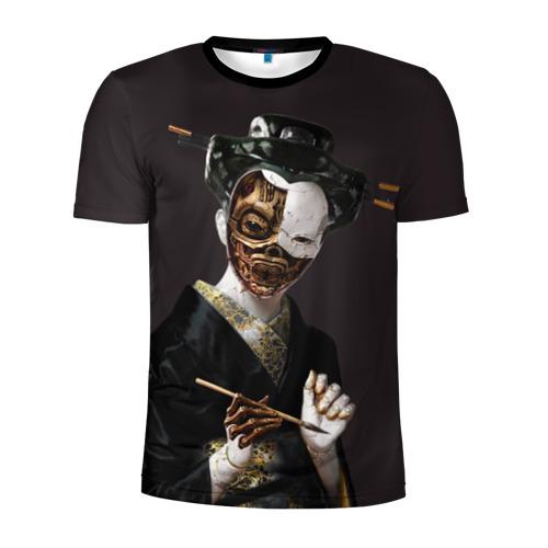 Мужская футболка 3D спортивная Ghost In The Shell 1