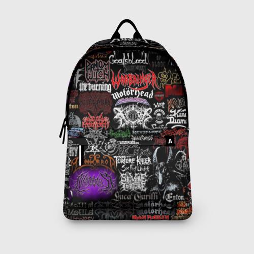 Рюкзак 3D с принтом Hard Rock, вид сбоку #3