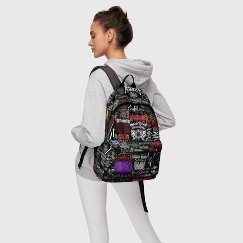 Рюкзак 3D с принтом Hard Rock, фото #4