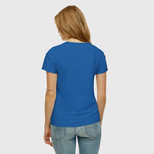Женская футболка с принтом Dogtor, вид сзади #2