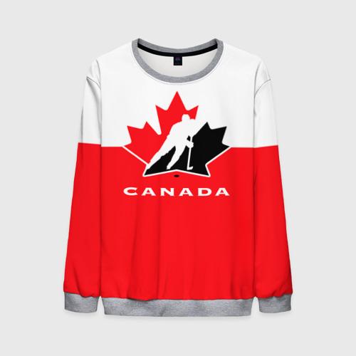 Мужской 3D свитшот TEAM CANADA