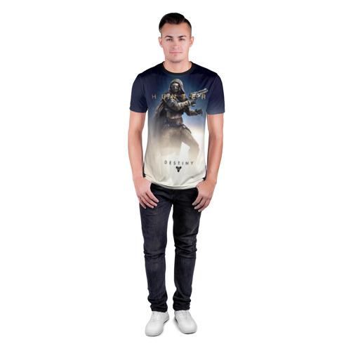 Мужская футболка 3D спортивная с принтом Destiny 17, вид сбоку #3
