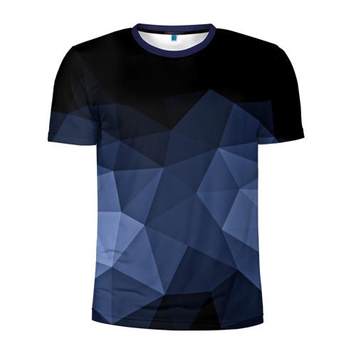Мужская футболка 3D спортивная Abstraction