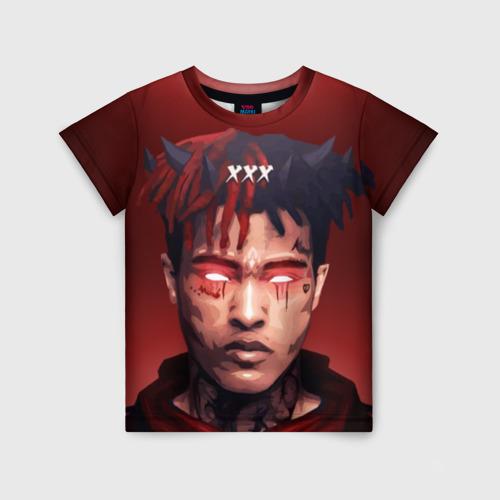 Детская 3D футболка Xxxtentacion