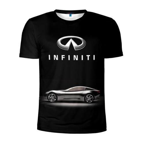 Мужская футболка 3D спортивная Infiniti