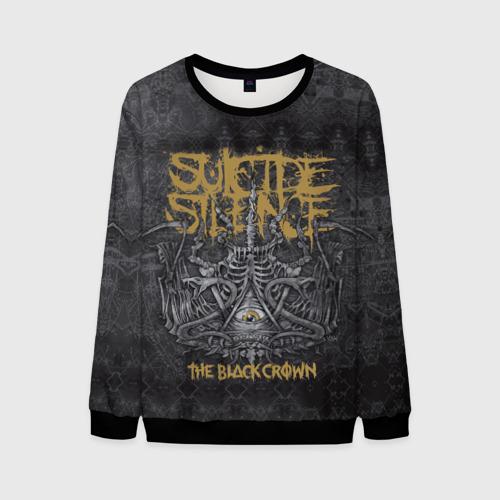 Мужской 3D свитшот Suicide Silence 7