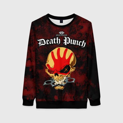 Женский 3D свитшот Five Finger Death Punch 4