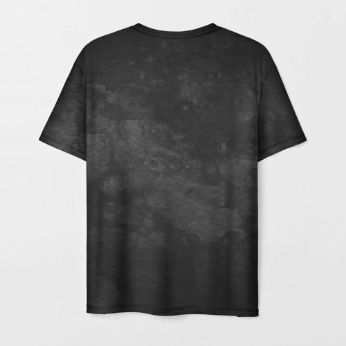 Мужская 3D футболка с принтом Его величество Иван, вид сзади #1