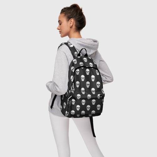 Рюкзак 3D с принтом Черепа, фото #4