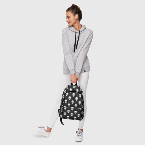 Рюкзак 3D с принтом Черепа, фото #6