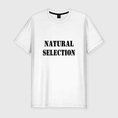 Мужская футболка премиум Natural Selection