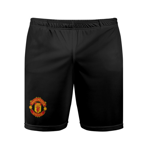 Мужские шорты 3D спортивные Манчестер Юнайтед