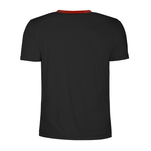 Мужская футболка 3D спортивная с принтом Бавария Мюнхен, вид сзади #1