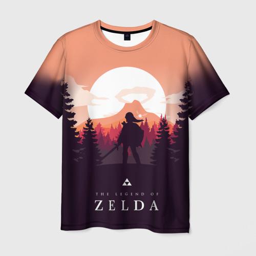 Мужская 3D футболка с принтом The Legend of Zelda, вид спереди #2