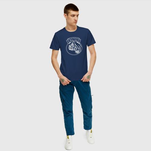 Мужская футболка с принтом Мы сами выбираем свою гору 2, вид сбоку #3