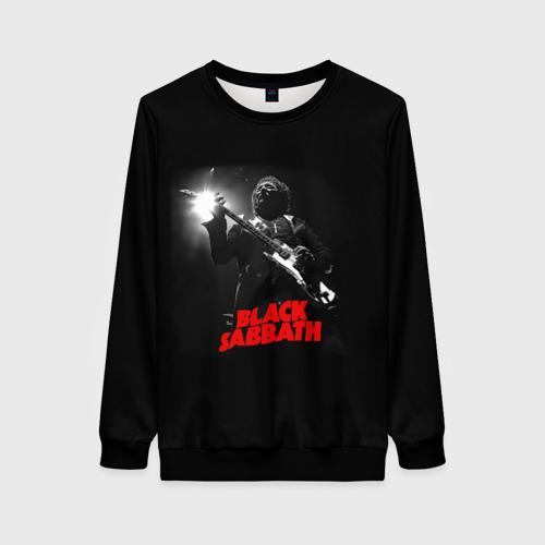 Женский 3D свитшот Black Sabbath