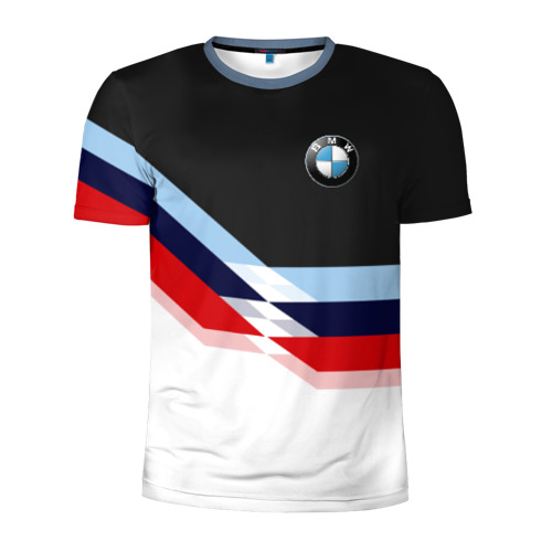 Мужская футболка 3D спортивная BMW M SPORT