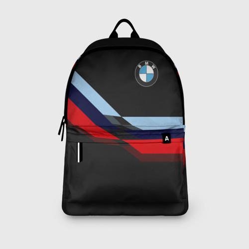 Рюкзак 3D с принтом BMW | БМВ, вид сбоку #3