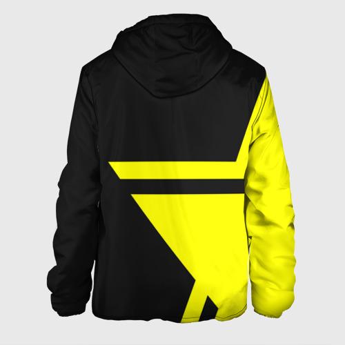 Мужская куртка 3D с принтом BORUSSIA, вид сзади #1