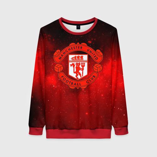 Женский 3D свитшот FC Манчестер