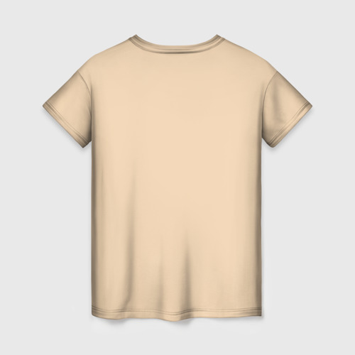 Женская 3D футболка с принтом Eleven, вид сзади #1