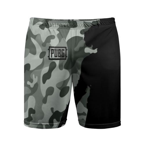 Мужские шорты 3D спортивные PUBG